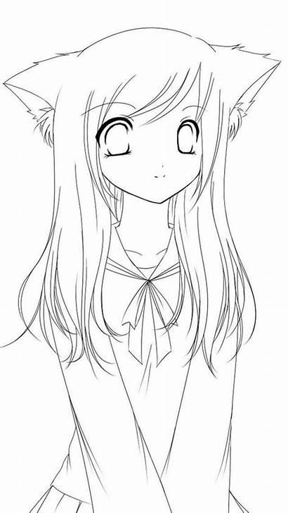 Gacha Coloring Itsfunneh Anime Printable Krew Dibujos