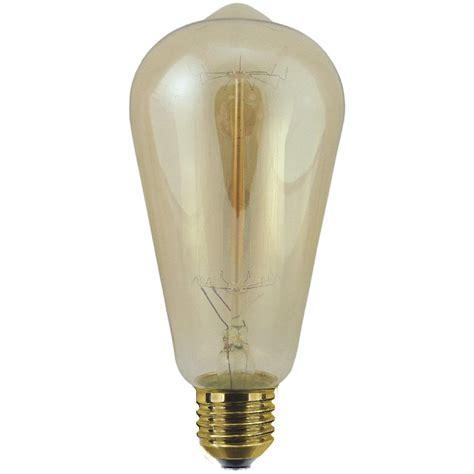 60 watt es e27 decorative rustic classic light bulb