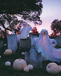 cool halloween decorations 48 CREEPY OUTDOOR HALLOWEEN DECORATION IDEAS...... - Godfather Style