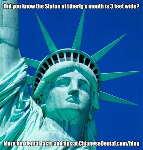 Statue Of Liberty Meme - dental memes facts and tips archives page 3 of 3 chianese dental cosmetic dentist in toms