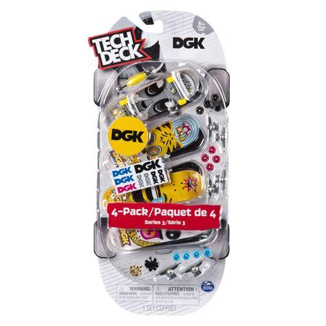 plan b tech decks 4 pack tech deck 96mm fingerboards 4 pack dgk