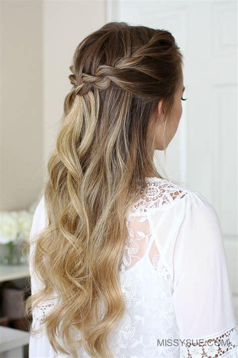 3 Easy Rope Braid Hairstyles Cool braid hairstyles
