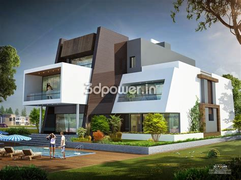 Home Design Ideas 3d by Ultra Modern Home Designs House 3d Interior Exterior