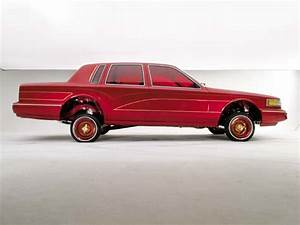 1993 Lincoln Town Car - Red Wine