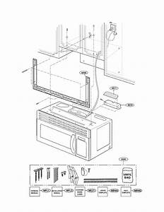 Installation Parts Diagram  U0026 Parts List For Model Mv1608ww
