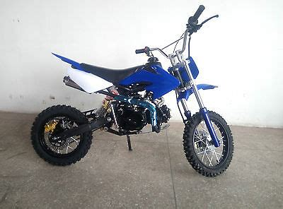 pit bike gebraucht dirt bike 125 ccm 14 12 r 228 der cross vollcross pocketbike pit enduro 125cc pocket eur 419 99