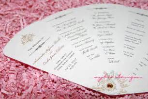 paddle fan program template diy wedding ideas and tutorials