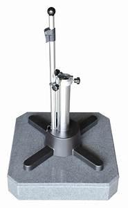 Schirmständer 50 Kg : sonnenschirmst nder liro mini plus 50s granitschirmfu hell flexible klemmung vom ~ Watch28wear.com Haus und Dekorationen