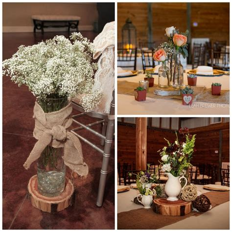 rustic wedding decorations for indoor and outdoor settings