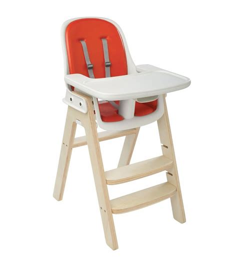 oxo seedling high chair oxo tot sprout high chair orange birch