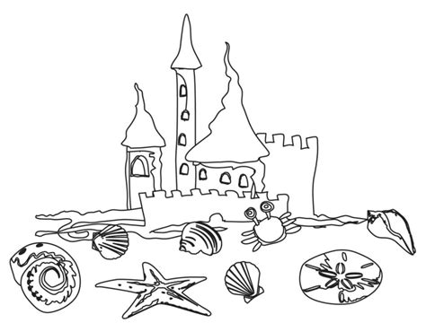 printable beach coloring pages  kids