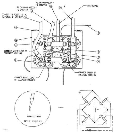 warn 1700 winch wiring diagram wiring diagram