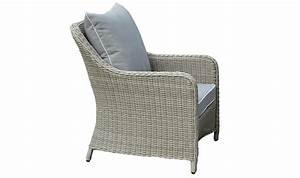 Fauteuil De Jardin En Résine Tressée : fauteuil de jardin en r sine tress e grise claire grace ~ Teatrodelosmanantiales.com Idées de Décoration
