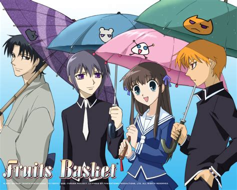 Fruit Basket Anime Wallpaper - fruits basket wallpaper and background image 1280x1024