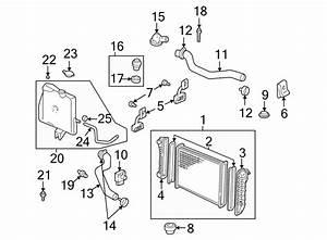 Chevrolet Monte Carlo Engine Coolant Reservoir Hose  3 4