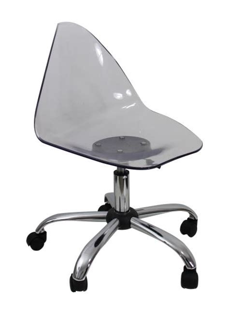 clear plastic swivel chair for decoration seat lift