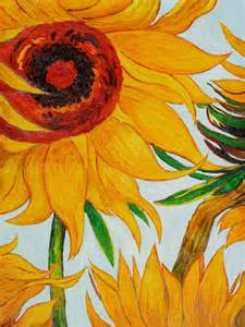 Vincent Van Gogh Sunflower Paintings