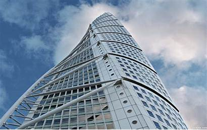 Torso Turning Calatrava Santiago Building Sweden Tiromancino