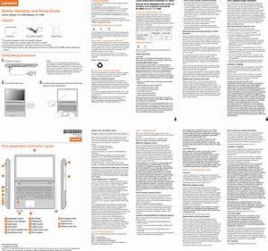 Lenovo Ideapad 110 14 15isk Swsg En 201608 User Manual