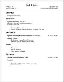resume templates how to write cv for