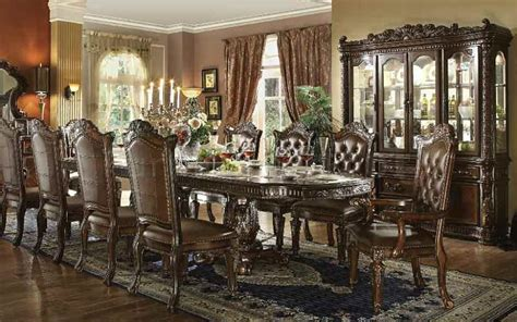 acme  vendome formal dining room set  cherry