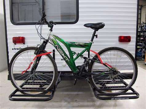 bike rack for rv swagman 4 bike carrier rv mounted bike rack swagman rv and