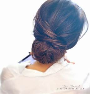 16 Easy And Chic Bun Hairstyles For Medium Hair Pretty