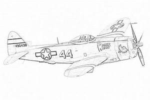 Coloring Pages Fighter Plane Coloring Pages