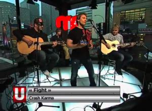 Log in to the app. Canadian Rock Band Crash Karma Performs in JUZD ...