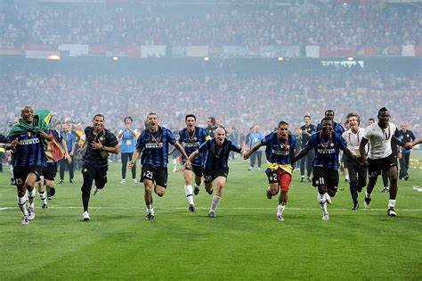 Dieci anni dal Triplete dell'Inter, DAZN regala una rail ...