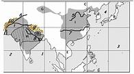 Ancient India And China Map