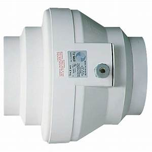 Fantech Plastic Centrifugal In-line Duct Fan - 6 U0026quot