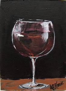 wine painting | Focusing on the Fine Art of FUN Art