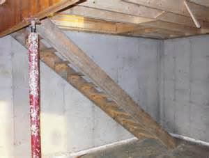 Building Basement Stairs