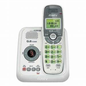 Vtech Cs6124 Dect 6 0 Cordless Phone With Answering
