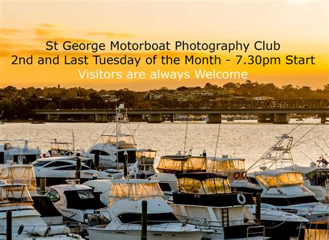 St George Motor Boat Club Function Menu by Photographic Club St George Motor Boat Club