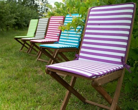 coussins chaises de jardin coussin de chaise marinière de jardin privé salon de