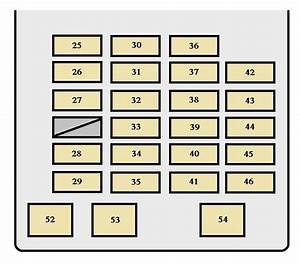 Toyota Sequoia  2001 - 2002  - Fuse Box Diagram