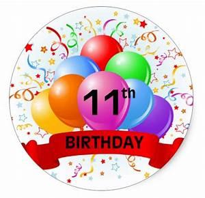 Best 50+ 11th birthday 2016 - Birthday Wishes Zone