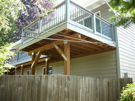 timbertech xlm second story deck deck masters llc