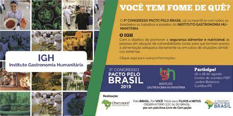 3º Congresso Pacto pelo Brasil terá iniciativa que visa ...