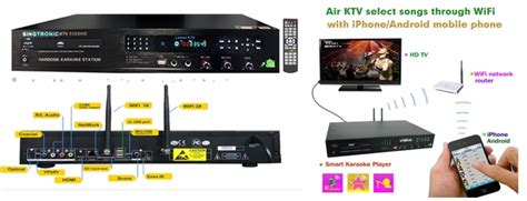 singtronic ktv 6000hd professional 6tb android drive