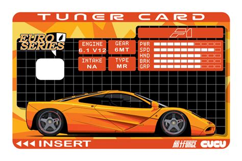 Go custom and upload your own pictures. F1 Tuner Card - CUCU Covers