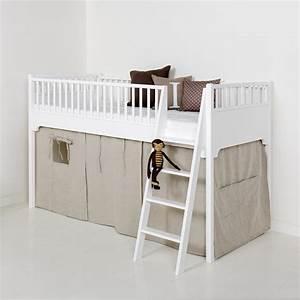 Vorhang Für Bett : oliver furniture vorhang natur f r halbhohes bett bei ~ Sanjose-hotels-ca.com Haus und Dekorationen