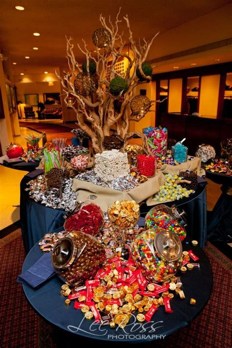 Sweet Table Vases by Mitzvah S Daniel S Bar Mitzvah Event Ideas