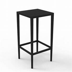 Table Haute Noire : table haute spritz jardinchic ~ Teatrodelosmanantiales.com Idées de Décoration