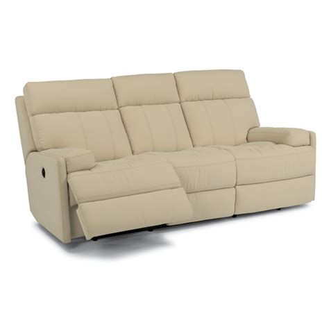 flexsteel 1436 62p nathan fabric power reclining sofa