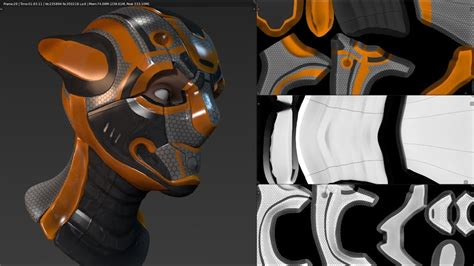 Blender 3d Uv Unwrapping  Texture Painting With