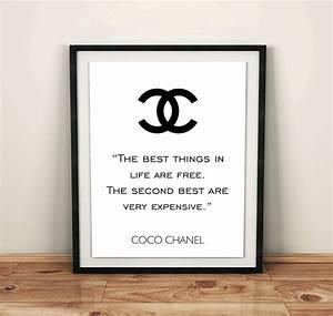 Coco Chanel Bilder : 25 einzigartige chanel logo ideen auf pinterest chanel hintergrund chanel no 5 und chanel ~ Cokemachineaccidents.com Haus und Dekorationen