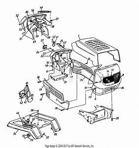Mtd 14ay833p206  1997  Parts Diagram For Dash  Side Panel